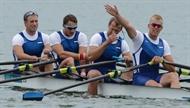 Pärnus austati olümpiasõudjaid