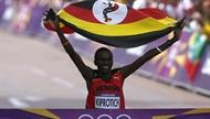 Noor ugandalane jahmatas maratonikullaga