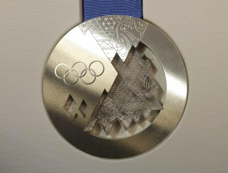 впишутся фото олимпийских медалей сочи представляет собой мазь